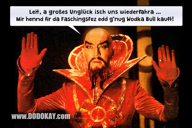 Dodokay Flash Gordon Wodka Bull