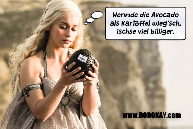 Dodokay Game of Thrones Ananas Daenerys Targaryen