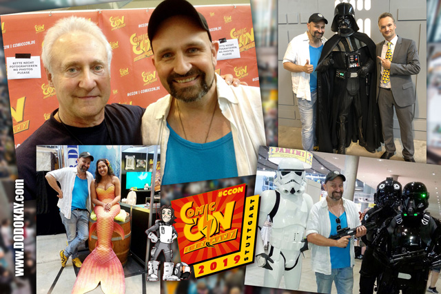 Dodokay Comic Con Germany Stuttgart 2019 Brent Spiner Star Trek Data